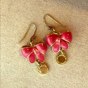 Marc by Marc Jacobs Annabelle Pink BowTie Earrings